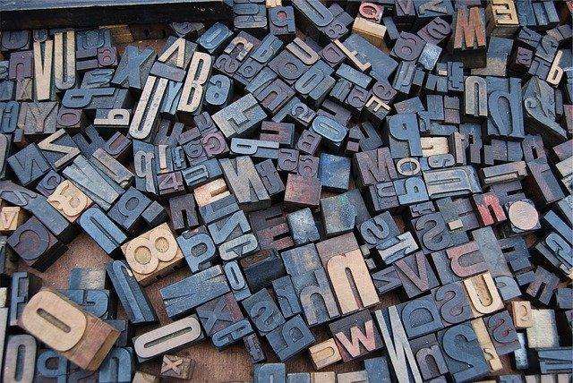 fluenza linguistica la tipografia è importante