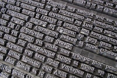 fluenza linguistica e caratteri tipografici